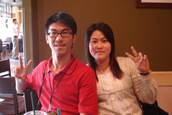 我和彥甄,我好同學的賢內助。