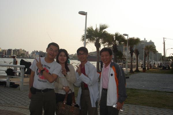 阿昌經理、彥甄、我和覺民經理