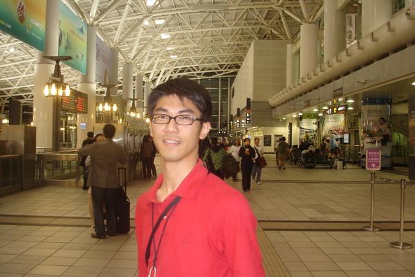 我在左營THSRC,很有國際機場的fu,比小港機場更像國際機場!
