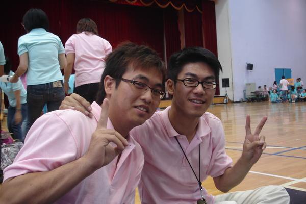 學弟(鴻文)和我