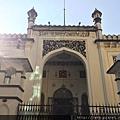 仰光 - 清真寺與數位時鐘