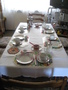 Rüdesheim 民宿餐桌