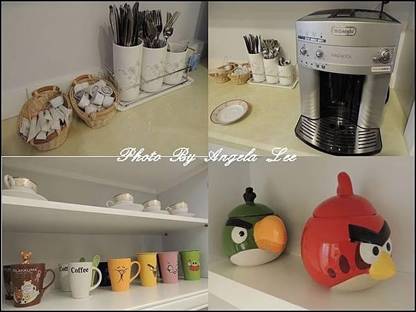 咖啡機與咖啡杯