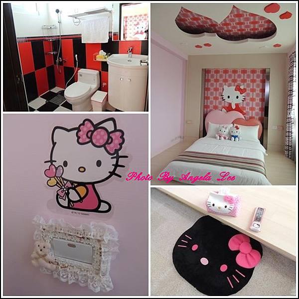 粉紅浪漫房型