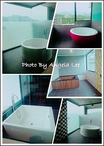 各房型皆有浴缸
