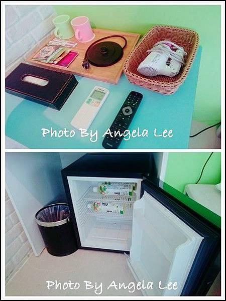 備品與小冰箱