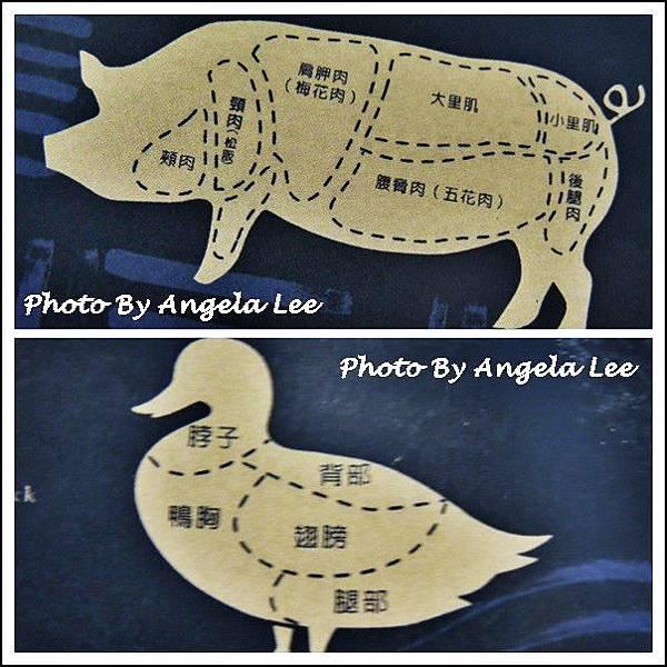 豬與鴨各部位名稱