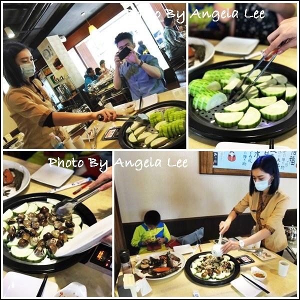 烹調蛤蜊絲瓜