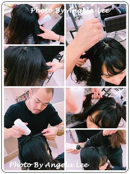 頭皮隔離防護