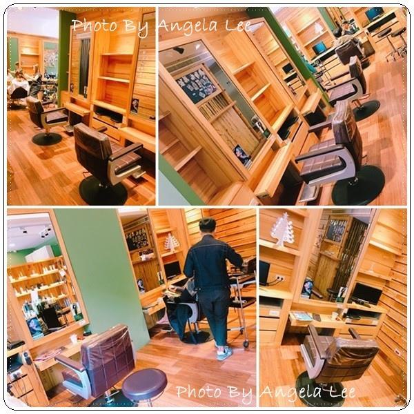 店內木質地裝潢