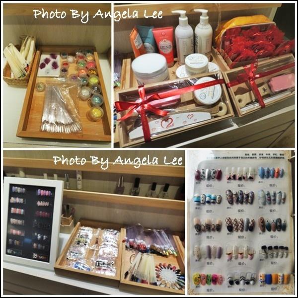 店內產品與指甲樣式