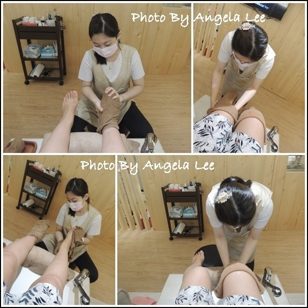 足部熱敷清理組圖