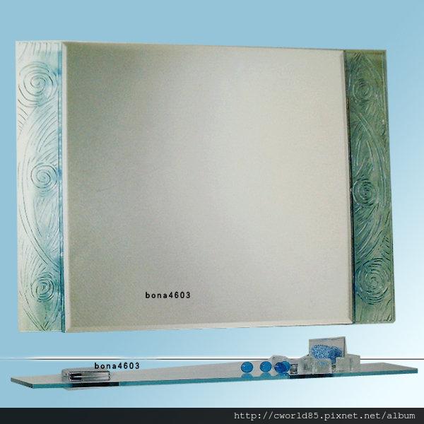 海灣形藝術琉璃鏡浴室化妝鏡-梳妝鏡-衛浴鏡HM-024附玻璃平台.jpg