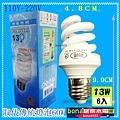 螺旋燈泡13W(6入)