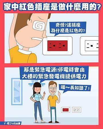 家中紅色插座是做什麼用的?.jpg