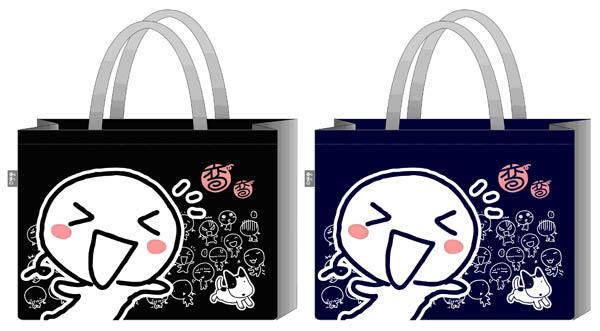 彎彎不織布購物袋(XL)_150元