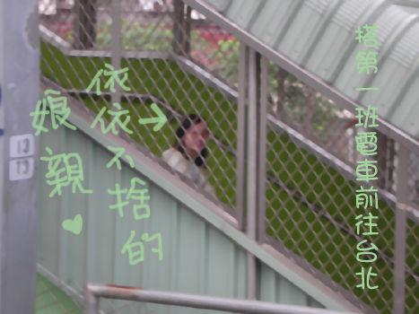搭火車到台北