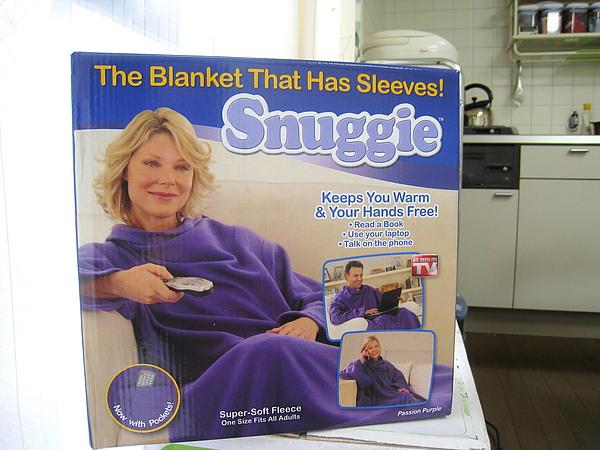 Snuggie袖毯