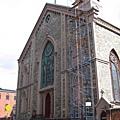 不起眼的老聖派翠克教堂,是教父Michael兒子受洗之處