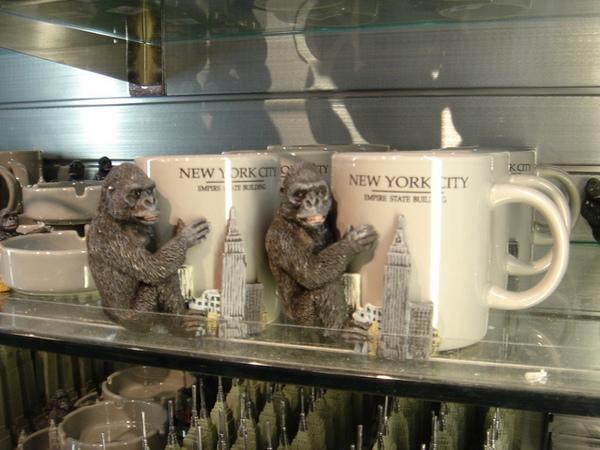 帝國大廈禮品店的週邊商品 - 大金剛馬克杯