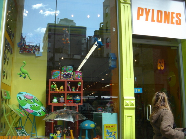 SOHO區一家可愛的設計家飾用品店