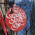 Cornelia Street Cafe的招牌