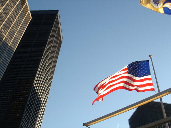 世貿大樓遺址的天空