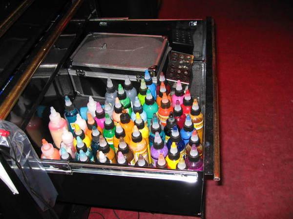刺青用的顏料