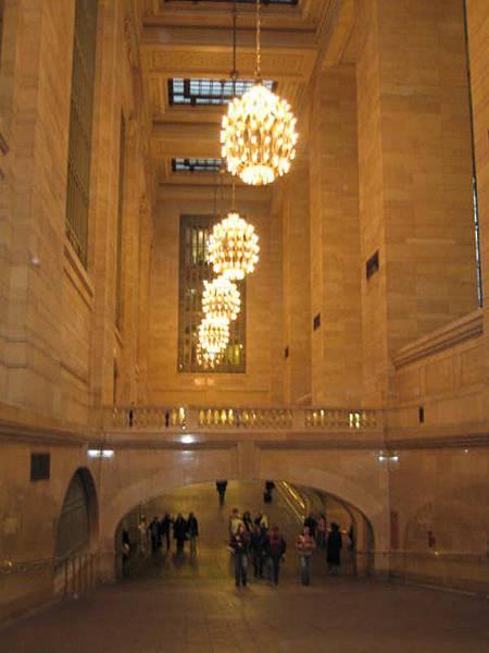 中央車站的美麗吊燈