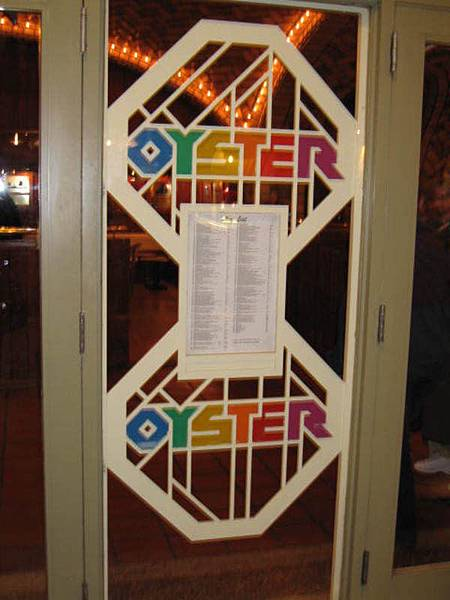 中央車站中著名的餐廳Oyster Bar