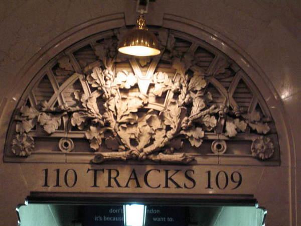 中央車站110月台