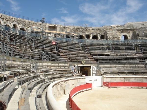 尼姆的古羅馬圓形露天劇場