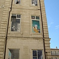 亞維儂一棟樓的外牆壁畫,唯妙唯肖