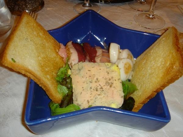 拍的很糟,但我發誓這是我嚐過最美味的法國前菜。讚到連吃兩天。