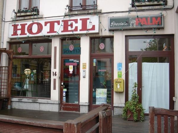 在布魯塞爾住的是Hotel Galia,外觀很不起眼