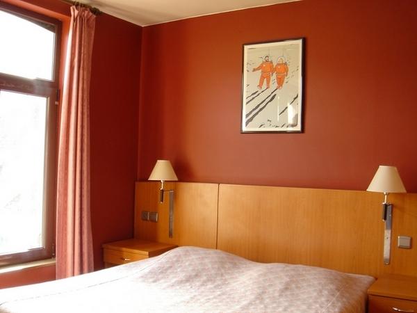 誰知道旅館裝潢全是布魯塞爾巨星:丁丁的漫畫!