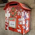 布魯塞爾街頭的郵箱。我愛拍這種亂七八糟的東西