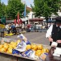 阿克瑪有名的週五乳酪市集