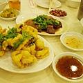 酥炸鱔魚和滷水鵝片,鵝肉超嫩