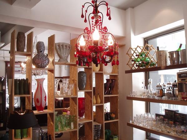 家飾用品店「住好啲(GOD)」一角,這家店販賣許多懷舊風的創意家飾用品