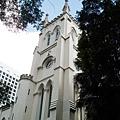 中環的聖約翰教堂,是十九世紀的歐洲建築
