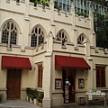 聖約翰教堂旁的販賣部也長得很可愛