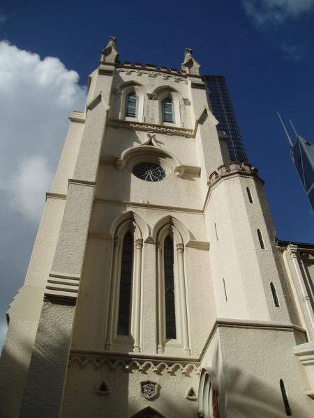 可惜教堂裡面規定不能拍照