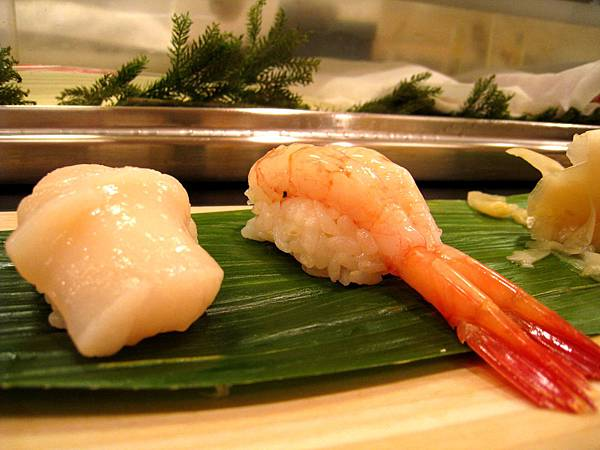 生蝦握壽司好吃到破表
