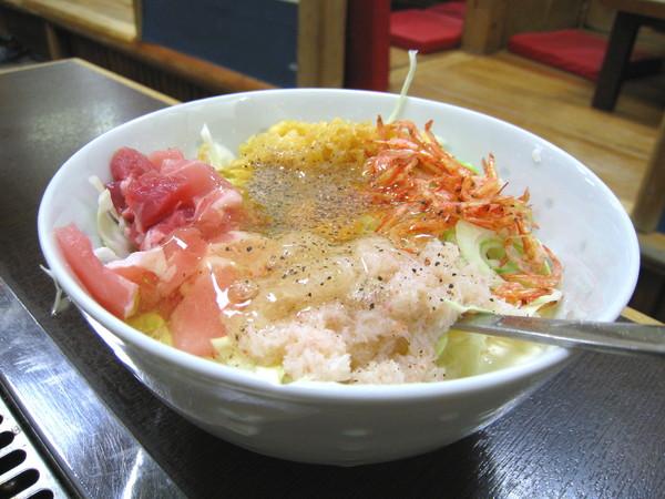 意猶未盡,又點了大白愛吃的大阪燒