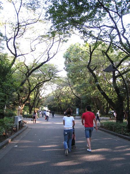 上野公園很適合全家度過一個悠閒下午