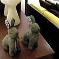 還有看起來很邪惡的兔子