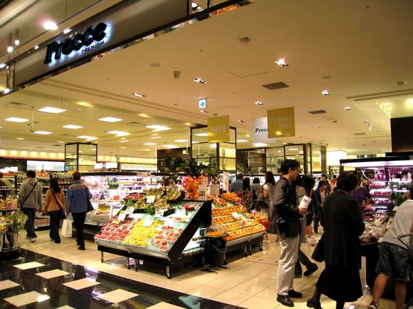 順便逛逛Midtown內人潮洶湧的Precce超市,裡面有大量令人流口水的生鮮熟食
