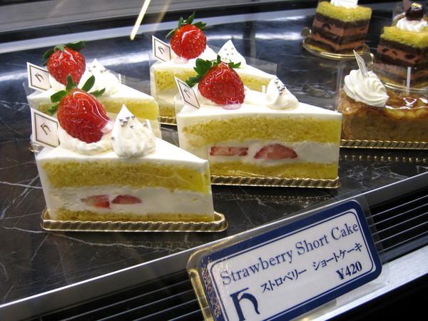 一定要買的是草莓蛋糕(Strawberry Shortcake),連不愛甜食的我也覺得很好吃