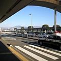 熊本天氣有點涼,但十分晴朗,一出機場就看得到山耶